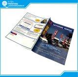 Impressão bem-desenvolvida do catálogo da cor A4 cheia