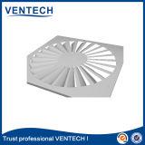 HVACの空気換気の天井が高い円形の空気渦巻の拡散器