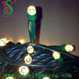 A corda do diodo emissor de luz das decorações da árvore de Natal do fio do PVC ilumina o uso ao ar livre