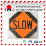 Película que cubre reflexiva del grado de la ingeniería para las señales de tráfico de camino que advierten la tarjeta (TM7600)