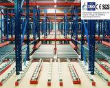 Scaffalatura d'acciaio di gravità Q235 per il sistema di memorizzazione di magazzino