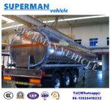 半50m3アルミ合金の石油燃料のタンカーのトレーラー