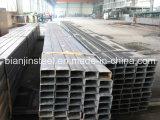 Q235 Ss400 S235jr rechteckiges Stahlrohr