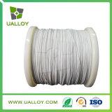 Alambre aislado fibra de vidrio de la calefacción de resistencia con la alta característica