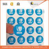 De afgedrukte Druk van het Etiket van de Printer paste Sticker van de Koepel van de EpoxyHars de Zelfklevende aan