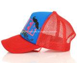 Neues gedruckter Mann-Hut des Art-Rot-6 Panel