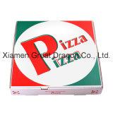 Rectángulo acanalado de la pizza de Kraft del calibrador fino euro del estilo (PB160612)