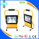 6000 diodo emissor de luz recarregável Floodlight de Lumens 50W, Outdoor Flood Light