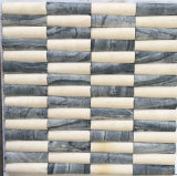 Mosaïque de marbre en pierre normale de couleur mélangée pour le carrelage
