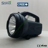 lampe-torche rechargeable du CREE DEL de la haute énergie 10W