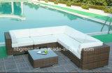 Patio-im Freiensofa stellt Wohnzimmer-Rattan-Möbel ein