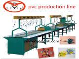 Étiquette de chaussure de PVC faisant la machine
