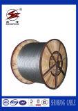 Línea de transmisión de arriba de la baja tensión conejo del conductor ACSR y perro de ACSR
