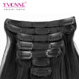 Virgin 100% Human Hair Extensions Clip in Hair Extension