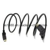 HDMI aan HDMI 180 Degree Rotating Pivoting/Swivel Cable Black