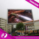 Schermo di P10 LED per lo stadio esterno che fa pubblicità alla video visualizzazione