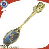 Ложка сувенира серебра металла пробела промотирования высокого качества (FTSS2921A)