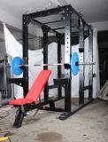 Cremalheira comercial nova de Multipower do equipamento da ginástica com o queixo acima da estação para o uso da ginástica