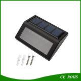 Projector solar barato magro do diodo emissor de luz para a lâmpada solar da cerca das escadas
