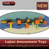 Speelplaats van het Ontwerp van Ce de Interessante Openlucht Plastic (x1504-3)