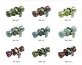 588 wir Typ Möbel-Nut-Verschluss-Sicherheits-Drehknopf-Tür-Verschluss