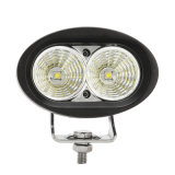 L'automobile di alta qualità LED illumina 4 l'indicatore luminoso del lavoro dell'inondazione LED del punto di pollice 20W per il Ce dotato LED RoHS del CREE del carrello elevatore a forcale certificato