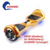 UL-Bescheinigung 2016 6.5 Inch-intelligenter elektrischer Selbstbalancierender Roller