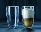 ホウケイ酸塩ガラスの倍はガラスコップを囲む