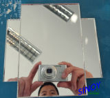 De dubbele Spiegel van het Aluminium van het Glas van de Vlotter van de VacuümDeklaag van Verven/VacuümSpiegel