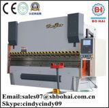 Psk 80t / 3200mm, Plegadora hidráulica, electro-hidráulico servo Prensa plegadora