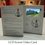4.3inch LCD Screen Video Brochure met Custom Printing