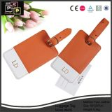 Chine Fournisseur Nouveau design Cheep Nice Custom Mini PU Leather Leather Tag (1481)