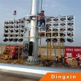 Iluminação de alto mastro de diodo emissor de luz de 25m 28m 30m 35m LED