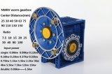 Caja de engranajes de aluminio del gusano de Nmrv de la mejor de la calidad caja de engranajes china del gusano