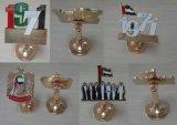 Divisa del Pin de la solapa del metal de los regalos del día nacional de los UAE 45.os