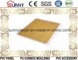 Disegno di plastica del soffitto del PVC del comitato della laminazione dei materiali da costruzione, comitato di parete decorativo