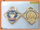 Медальон медали задней стороны медали 65mm*98mm Turnir пустой (JINJU16-066)