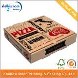 Boîte de empaquetage de coutume à pizza ondulée en gros de forêt (AZ-121717)