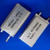 3.7V 2000mAh Li-Polymer-Plastik Batterie Li-Ionbatterie Lithium-Ionbatterie