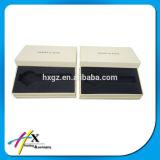 Cadre de bijou réglé de estampage chaud de papier de module de papier de cadre de bijou de cadeau d'OEM