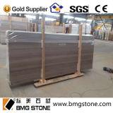 Bianco/Brown/Grey/lastre/mattonelle di legno del marmo vena del caffè