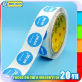 인쇄할 수 있는 주문 로고 printing NFC NTAG213 종이 레이블