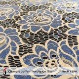 De textiel Stof van het Kant van de Bloem van Twee Toon Grote (M1396)