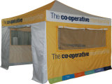 屋外展示会のための畳むイベントのおおいのテントをぽんと鳴らしなさい