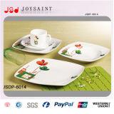 Insieme di pranzo quadrato di vendita caldo (JSD116-S022)