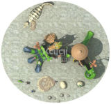Kaiqi klassisches altes Spielplatz-Gerät der Stamm-Serien-Kq60004A Dinosaul