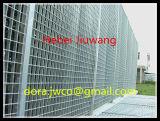 Por inmersión en caliente galvanizado ISO9001 Valla de alambre de rejilla