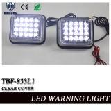 Het Licht van de Waarschuwing van de Stroboscoop van de LEIDENE Staart van de Vrachtwagen met Witte LEDs voor Vrachtwagens in het Draaien van functie