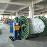 Machine empaquetée aérienne de fabrication de câbles de fil