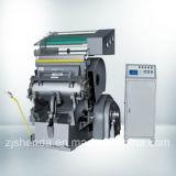 Troqueladora el cortar con tintas semiautomático y de la hoja caliente (TYMK-930)